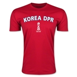 Korea DPR FIFA U-17 World Cup Chile 2015 Men's Premium T-Shirt (Red)