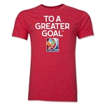 FIFA Women's World Cup Men's Fashion T-Shirt (Heather Red)