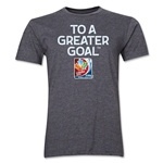 FIFA Women's World Cup Men's Fashion T-Shirt (Dark Gray)