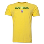 Australia FIFA Women's World Cup Canada 2015(TM) T-Shirt (Yellow)