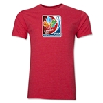 FIFA Women's World Cup Canada 2015(TM).French Core T-Shirt (Heather Red)