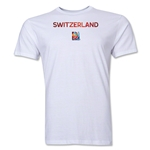 Switzerland FIFA Women's World Cup Canada 2015(TM) T-Shirt (White)