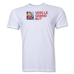 FIFA Women's World Cup Canada 2015(TM).French Slogan T-Shirt (White)