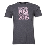 FIFA Women's World Cup Canada 2015(TM).French Logotype T-Shirt (Dark Grey)