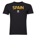 Spain FIFA Women's World Cup Canada 2015(TM) T-Shirt (Black)