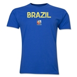 Brazil FIFA Women's World Cup Canada 2015(TM) T-Shirt (Royal)