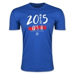 FIFA Women's World Cup Men's Fashion T-Shirt (Royal)