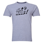 Ruk Rugby Shield SS T-Shirt Gray