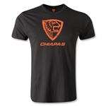 Jaguares Distressed Chiapas Men's Fashion T-Shirt (Black)