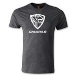 Jaguares de Chiapas Distressed Chiapas Men's Fashion T-Shirt (Dark Gray)