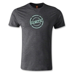 Jaguares de Chiapas Huella Men's Fashion T-Shirt (Dark Gray)