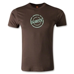 Jaguares de Chiapas Huella Men's Fashion T-Shirt (Brown)
