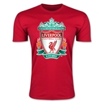 Liverpool Crest Men's Fashion T-Shirt (Red)