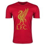 Liverpool Liver Bird Men's Fashion T-Shirt (Red)