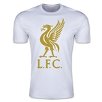 Liverpool Liver Bird Men's Fashion T-Shirt (White)