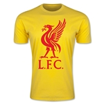 Liverpool Liver Bird Men's Fashion T-Shirt (Yellow)