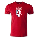 LOSC Lille Crest Men's Fashion T-Shirt (Red)