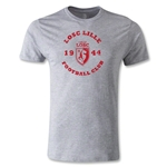 LOSC Lille Graphic Men's Fashion T-Shirt (Gray)