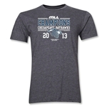 MLL 2013 Champions SS T-Shirt (Dark Grey)