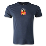 Morelia Monarcas Small Logo Men's Fashion T-Shirt (Navy)