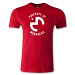 Morelia Monarcas Property Men's Fashion T-Shirt (Red)