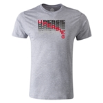 Manchester United V Persie Men's Fashion T-Shirt (Gray)