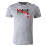 Manchester United de Gea Men's Fashion T-Shirt (Gray)