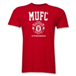 Manchester United Men's Fashion T-Shirt (Red)