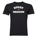 Rugby Oregon Logo Premier T-Shirt (Black)