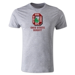 Ohio State Rugby Men's Fashion T-Shirt (Gray)