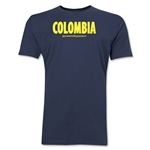 Colombia Powered by Passion T-Shirt (Navy)