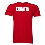 Croatia Powered by Passion T-Shirt (Red)