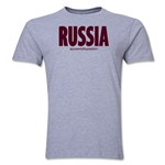 Russia Powered by Passion T-Shirt (Gray)