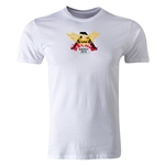 Old White Logo Fashion T-Shirt (White)