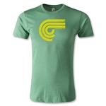 Puro Futebol Distressed Icon Men's Fashion T-Shirt (Green)