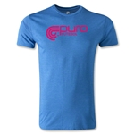 Puro Futebol Logo Men's Fashion T-Shirt (Royal)