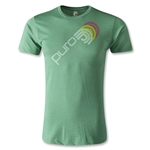 Puro Futebol Repeat Icon Men's Fashion T-Shirt (Green)