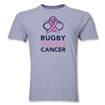 Rugby Fights Cancer Premium T-Shirt (Gray)