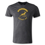 South Africa Springboks Rugby 15 Premier T-Shirt (Dark Gray)
