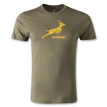 South Africa Springboks Bok Premier T-Shirt (Olive Green)