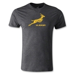 South Africa Springboks Bok Premier T-Shirt (Dark Gray)