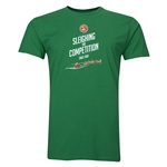 FC Santa Claus Sleighing the Competition Men's T-Shirt (Green)