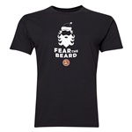 FC Santa Claus Fear the Beard Men's T-Shirt (Black)