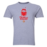 FC Santa Claus Fear the Beard Men's T-Shirt (Grey)