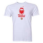 FC Santa Claus Fear the Beard Men's T-Shirt (White)
