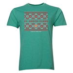 FC Santa Claus Christmas Sweater Men's T-Shirt (Heather Green)