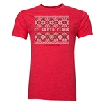 FC Santa Claus Christmas Sweater Men's T-Shirt (Heather Red)