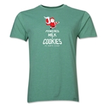FC Santa Claus Milk and Cookies Men's T-Shirt (Heather Green)