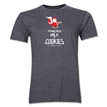 FC Santa Claus Milk and Cookies Men's T-Shirt (Dark Grey)
