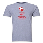 FC Santa Claus Milk and Cookies Men's T-Shirt (Grey)